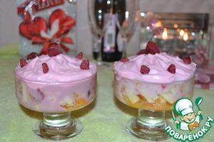 """Рецепт Фруктово-ягодный десерт """"Искушение"""""""