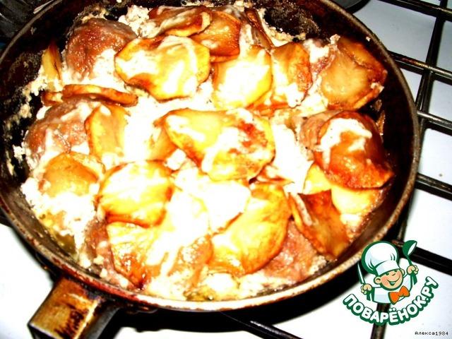 Рецепт на ужин с пошагово в
