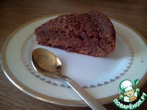 Рецепт Шоколадно-кофейный кекс в мультиварке