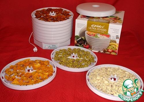 рецепты пастилы для сушилки изидри