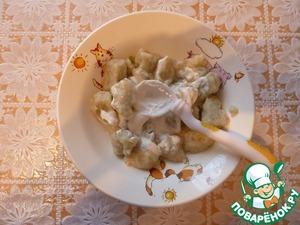 Как готовить рецепт с фотографиями Ленивые вареники с брокколи