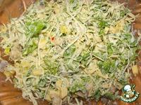 Скандинавский селедочный салат ингредиенты