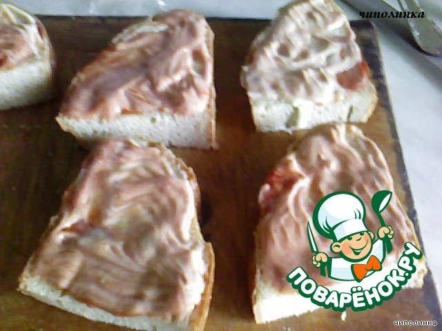 """""""Горячие бутерброды"""" домашний рецепт с фотографиями как приготовить #3"""