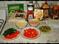 "Салат в лаваше ""А-ля шаурма"" ингредиенты"