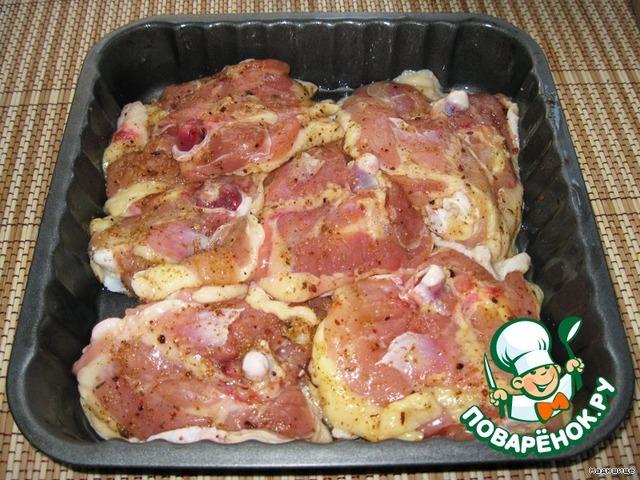 Рецепт блюд из куриных окорочков пошаговый