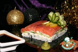 Рецепт Суши-торт