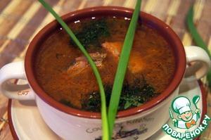 Рецепт Солянка с тунцом