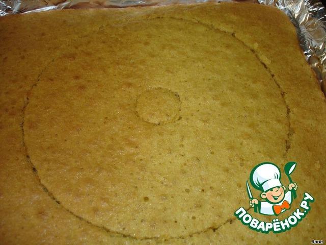 Песочный торт с персиками пошаговый рецепт приготовления с фото готовим #12