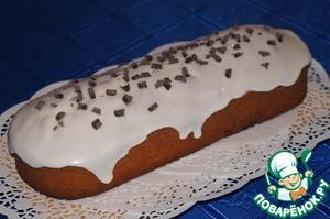 Рецепт Миндальный кекс на белках