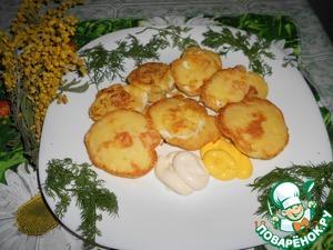 Рецепт Яйца, жаренные в кляре