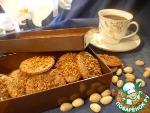 Рецепт Шоколадное печенье с фисташками