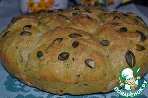 Рецепт Домашний хлеб с куркумой