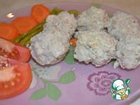 Легкие тефтели с курицей и геркулесом ингредиенты