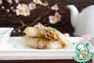 Рецепт Весенние роллы (Spring rolls)
