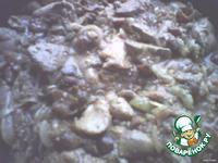 Ароматная куриная печень с грибами ингредиенты