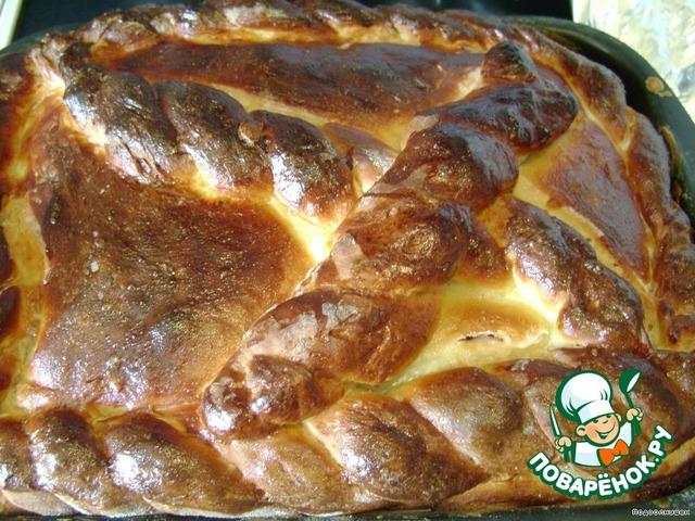 Простые пироги с черниками фото рецепты