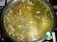 Суп из индейки с овощами и опятами ингредиенты