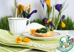 Рецепт Вкусные тосты к завтраку