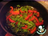 Овощи, жареные по-китайски ингредиенты