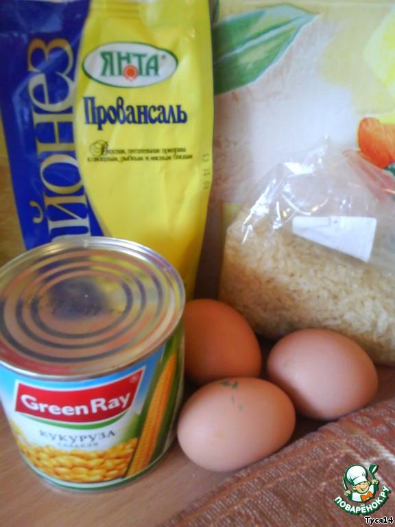 салат кукурузный рецепт с фото пошагово