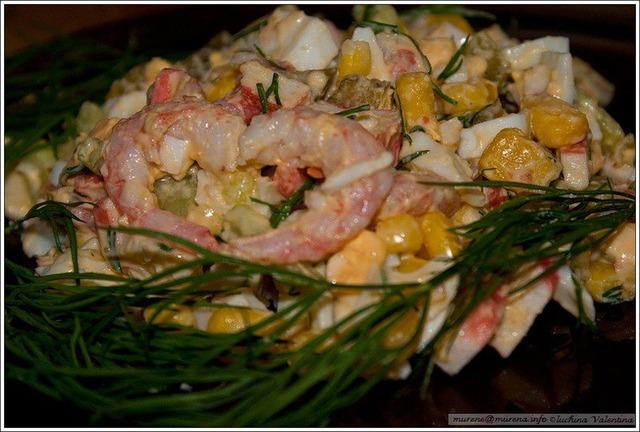 замороженная морская капуста как готовить салат