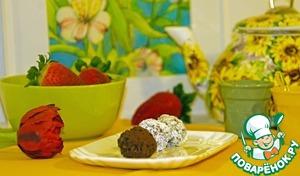 Рецепт Шоколадные овсяные шарики