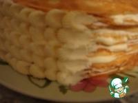 Блинный торт со сметанным кремом ингредиенты