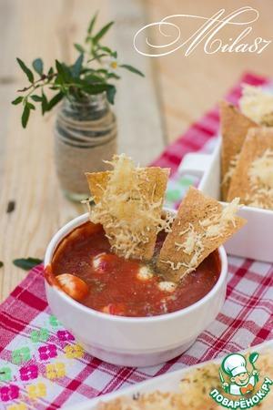 """Рецепт """"Здоровые"""" чипсы с домашним соусом"""