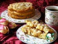 Crepe frisee или блинные кружева ингредиенты