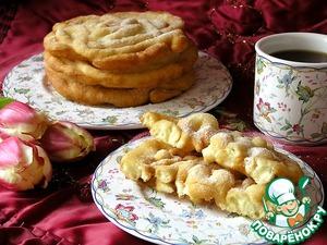 Рецепт Crepe frisee или блинные кружева