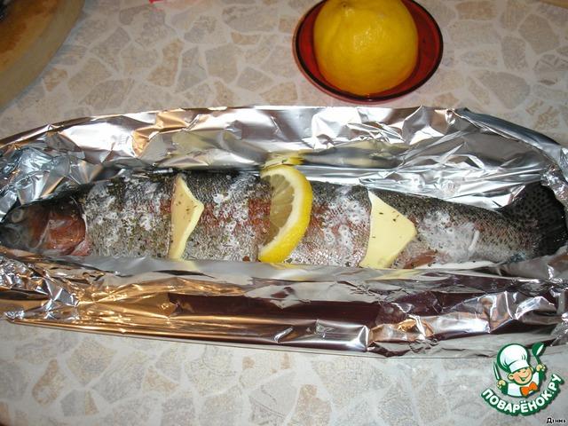 Форель в фольге в духовке рецепты с пошагово