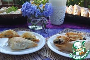 Рецепт Весенние треугольники, закусочные и десертные