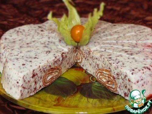 Шоколадные блины в нежном суфле
