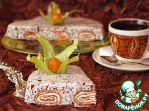 Рецепт Шоколадные блины в нежном суфле