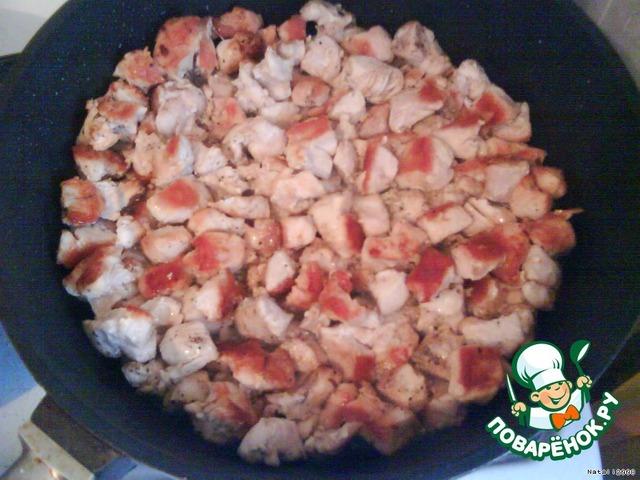 Плов с куриным филе пошаговый рецепт с фото
