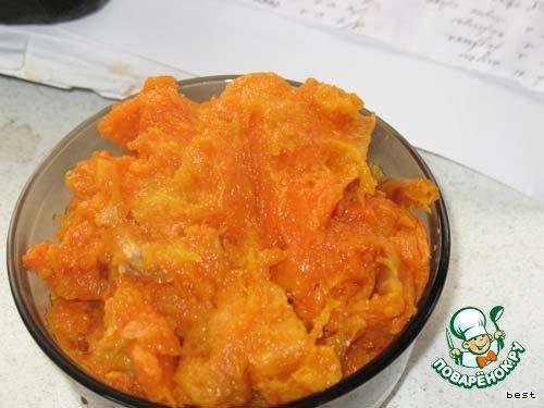 Вкусный рецепт приготовления с фотографиями Тыквенные кексы с орехами #2