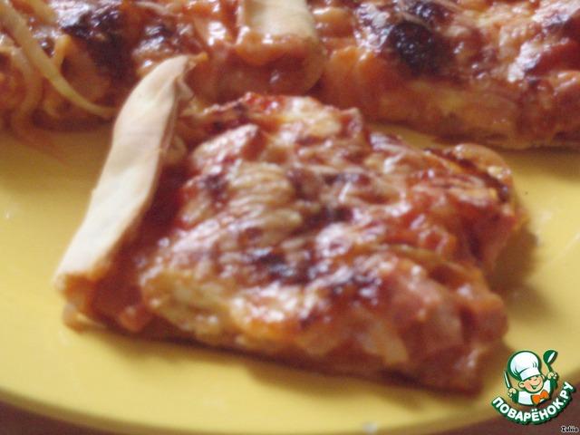 рецепт теста для пиццы без дрожжей и кефира в домашних условиях