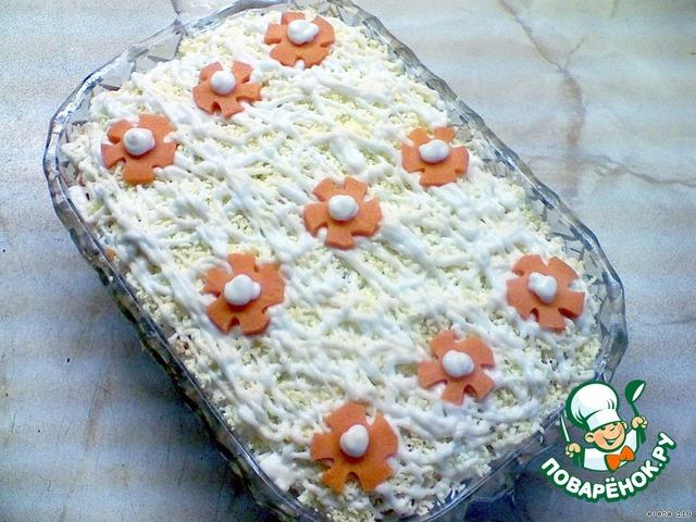 """Готовим Салат """"Аленушка"""" домашний пошаговый рецепт приготовления с фотографиями #4"""