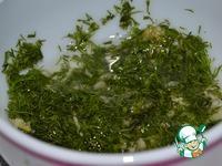 Ароматная булка под чесночным соусом ингредиенты