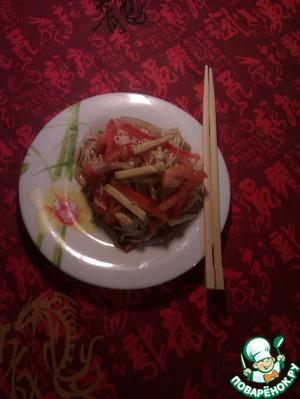 """Рецепт Салат """"Весна в Китае"""""""