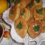Постные пирожки с чечевицей