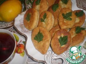 Рецепт Постные пирожки с чечевицей