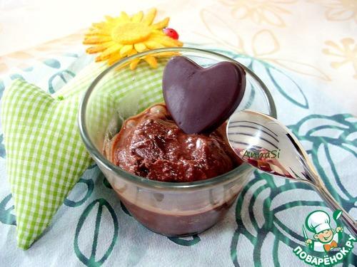 Шоколадный сорбет