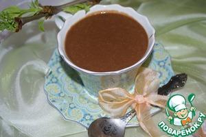 Рецепт Горячий шоколад с овсяными хлопьями