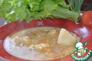Рецепт Щи из квашеной капусты с рыбой и фасолью
