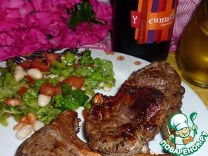 Рецепт Ароматная баранья корейка на косточке