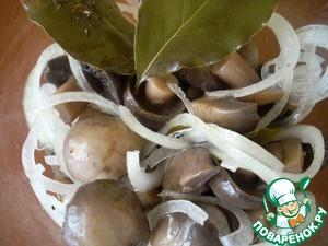 Маринованные грибы рецепт приготовления с фото как приготовить