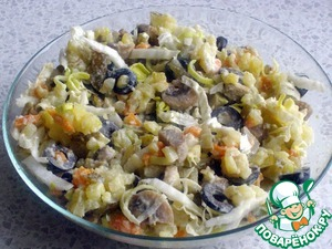 Рецепт Постный салат-Оливье