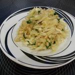 Салат из капусты с кедровыми орешками
