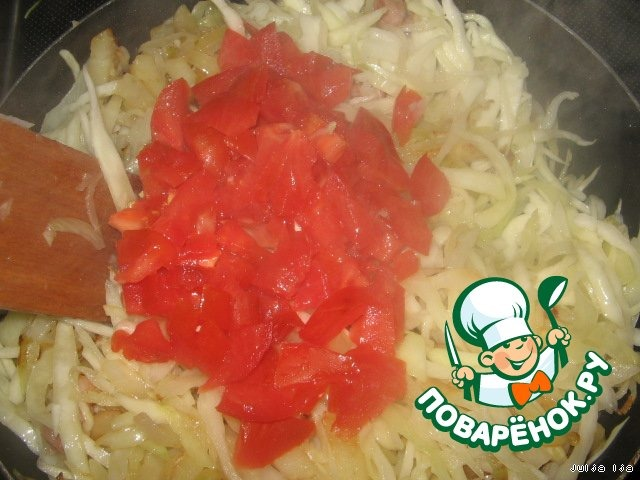 Рульку приготовить с капустой